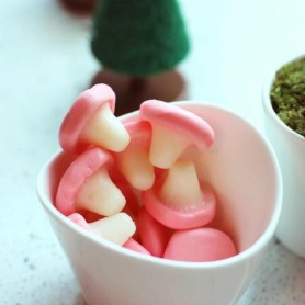 Czech Republic Park Lane DOUBLE LAYER GUMMY MUSHROOMS for Gummy - Candy Corner Decoration
