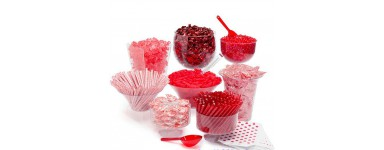 Red Color Series of Candy