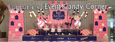 Corporate Event Candy Corner