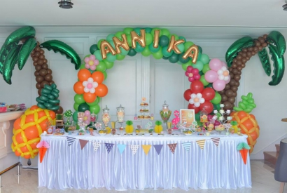 Happy Girl Annika 11歲生日會Candy Corner (2017-9-10)