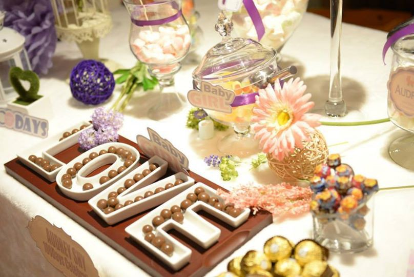 Candy Corner / Candy Bar Professional On-site Services at Eaton Hotel Nathan Room Candy Corner Theme: Purple Color