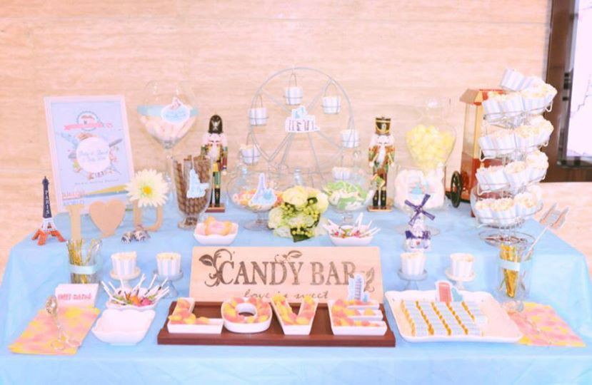 Candy Corner / Candy Bar Professional On-site Services at Courtyard by Marriott Hong Kong Candy Corner Theme: Around the world