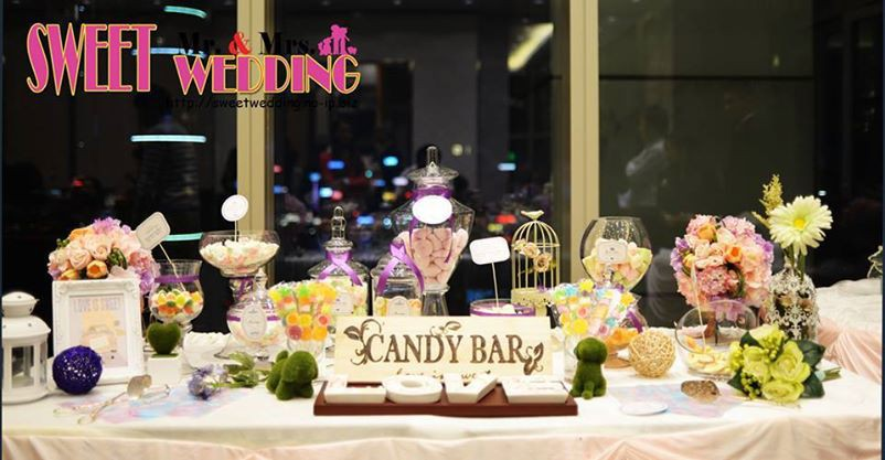 Candy Corner / Candy Bar Professional On-site Services at 迎, The One Candy Corner Theme: Purple Color