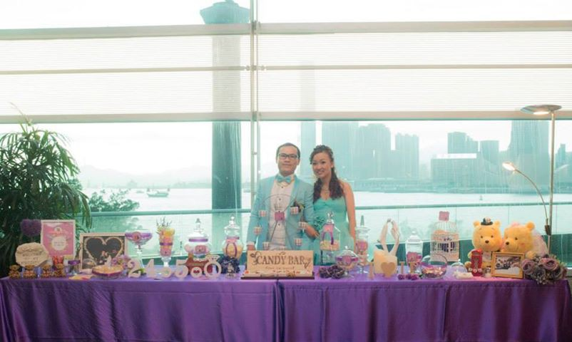Candy Corner / Candy Bar Professional On-site Services at 香港會議展覽中心 Candy Corner Theme: Around the world